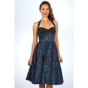 [Stop Staring!] Covergirl Halter Retro Pinup Dress
